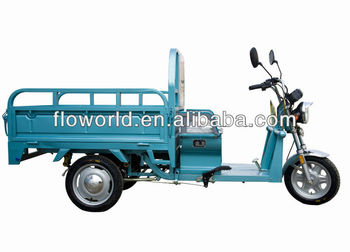 48V 850W brushless electric cargo tricycle loader