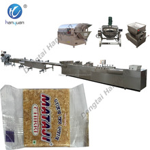 chikki peanut bar peanut crisp candy machine cutting and forming production