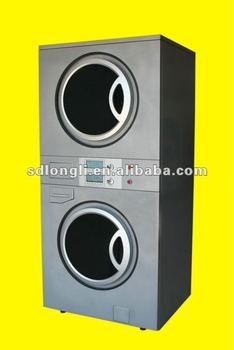 12kg-8kg industrial stack washer dryer