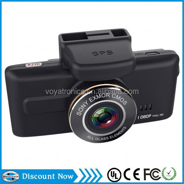 Latest e-dog car cam for car dash touch screen Full hd 1080P GPS 2.7inch screen WDR radar car dvr