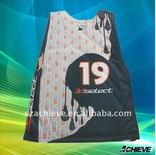 custom reversible lacrosse pinnies for league