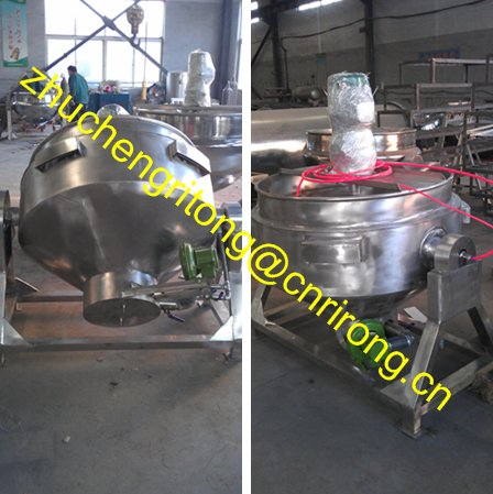 Electric/Gas Heating Stirrer Cooking Equipment