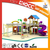 Plastic outdoor playground equipment ,2013 kates playground