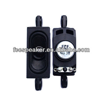 2045 4ohm 3W mini TV speaker with mounting holes