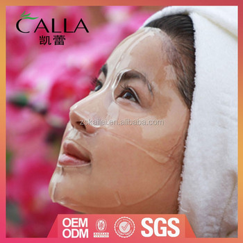 2016 hotsale product collagen natural facial masks