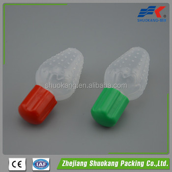6ml plastic product fruit shape bottle