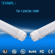 Factory price T8 18W 1.2m led tube lighting UL DLC certified