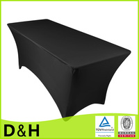 Flame retardant lycra square spandex table cover