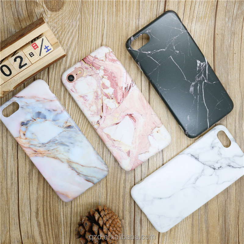 Marble Pattern IMD Print Flexible Soft Plastic Polish Texture Phone Cover Case for iPhone 8 8Plus