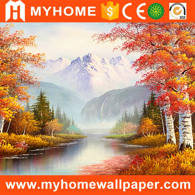 Beautiful 3d photo wallpaper interior decor wall mural for sale