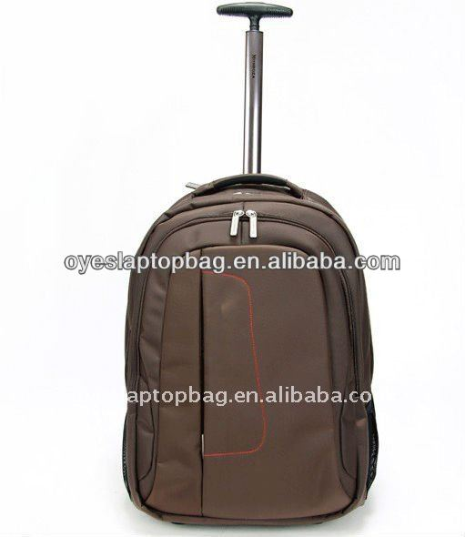 16 inch nylon small size trolley bag pack
