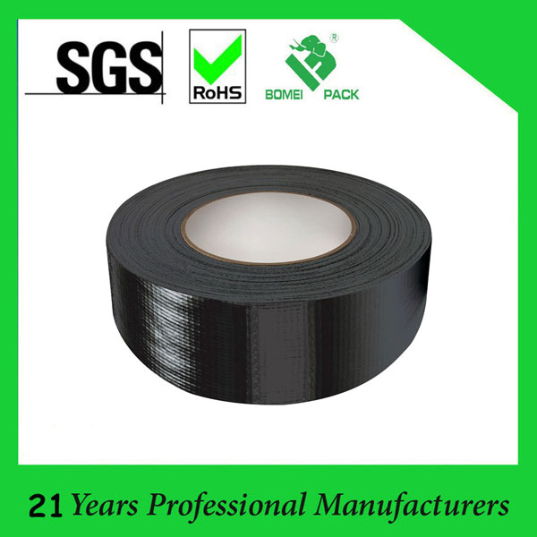"Durable Heat-resistant Black Cloth Duct Tape 2""X45m"