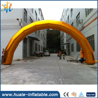 Customized inflatable arch for advertising