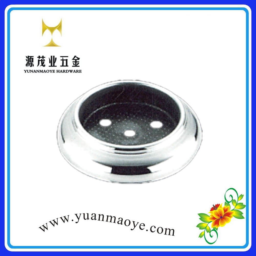Adjustable stainless steel handrail post base plate