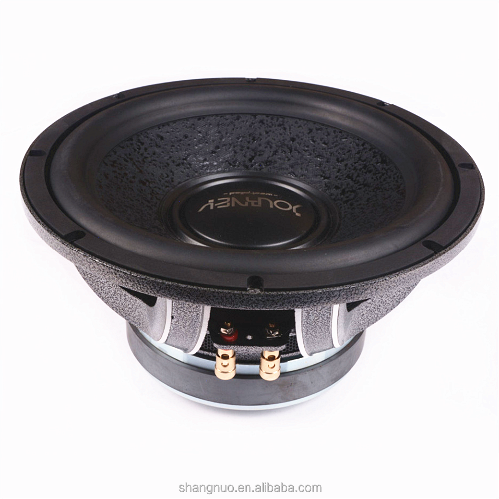 "2017 Factory directly supply 12"" Aluminium basket single voice coil car woofer speaker for car audio"