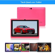 7 inch quad core Android4.4 tablet pc with cartoon case