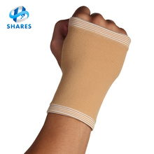 Knitted elastic volleyball sports hand wrist guard/wrist palm support/wrist brace