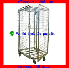 Foldable High Quality Rolling Security Cage