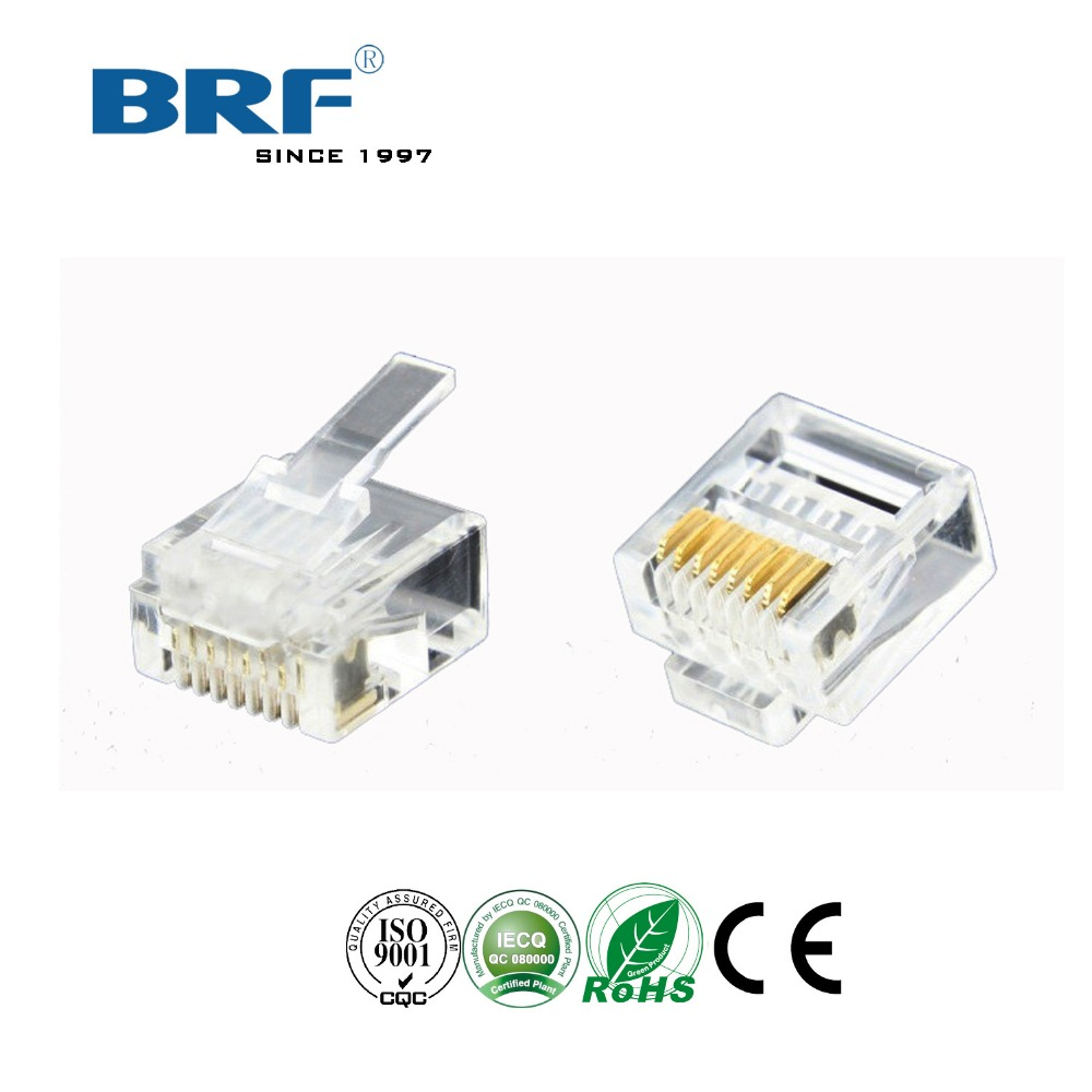 cat 6 rj45 plug 8p8c networking connector