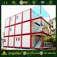 CE approved container portable motel in cost effecitive
