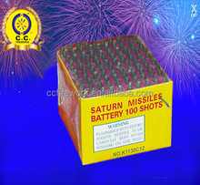 best wholesale names of liuyang K1130 100s Saturn Missile Battery fireworks factory