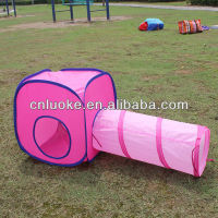hot sale pop up pet tunnel and tent