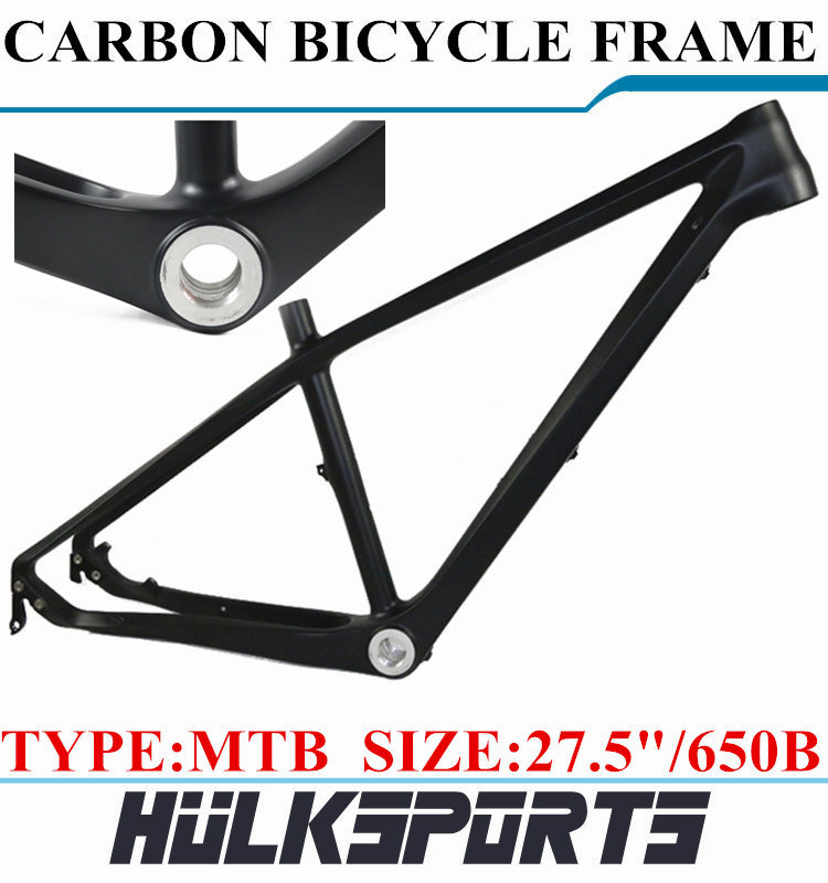 Chinese mountain bike carbon fiber bicycle frame mtb carbon frame 26