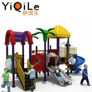 Children outdoor gymnastic equipment kids plastic outdoor toys plastic tubes playground