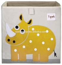 Factory direct Storage Box Rhino Yellow