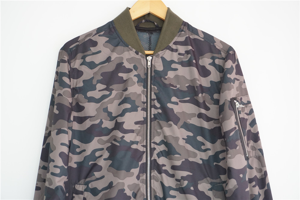 Fashion camouflage mens jacket