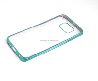 Newest mobile phone electroplate phone case for samsung s6 edge back case for samsung s6 edge plus