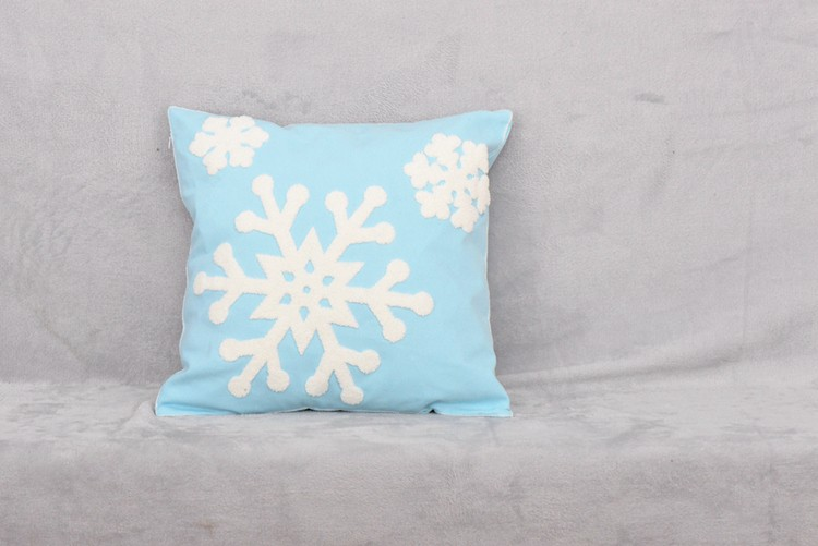 Fashion Design Appliqued Cushion