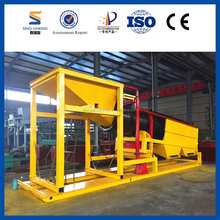 SINOLINKING Gold Screw Trommel for Slag Removal from China