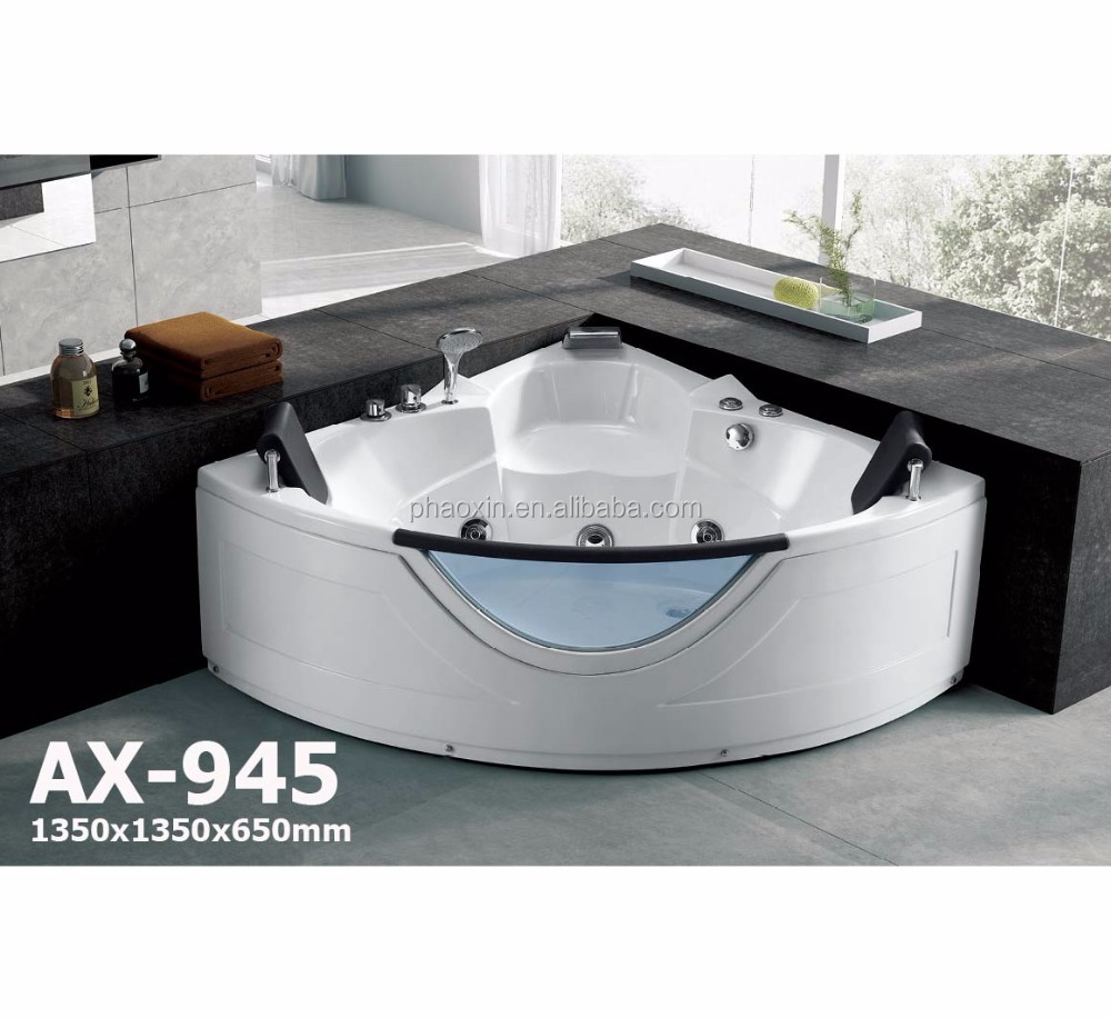 AX-945 Sector Whirlpools Manufacturer Wholesale Massage Bathtub for 2 People