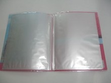 pp file holder/office plastic clear a4 book cover