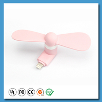 Multi Use mini mobile fan for gift
