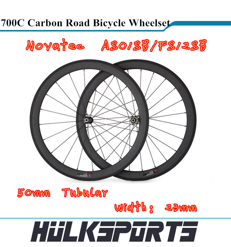 chinese carbon road bike wheels 700C full carbon road bicycle wheelst 50 Tubular carbon wheelset for road bicycle