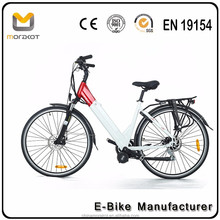 Electric rechargeable lithium ion battery Hidden Power Electric bike/ Green City High Speed E Bicycle