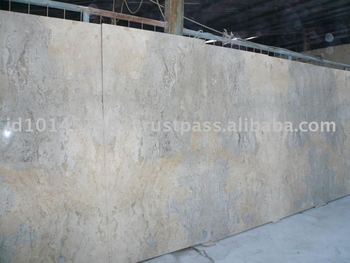 High Quality Ocean Blue Polished Marble Tile