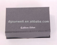 Dongguan Factory Price Popular paper folding box for gift & shopping packing