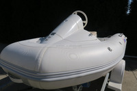 2-8 person fiberglass jet ski marine motor boat RIB-420 with windshield from aceboats!