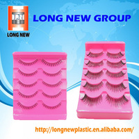 Vacuum forming false eyelashes blister tray pack manufacturer
