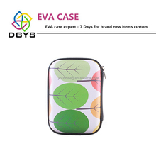 Electronic Accessories Waterproof EVA Travel zipper Powder Bank, Mobile Phone,USB, Cable Organizer EVA Case