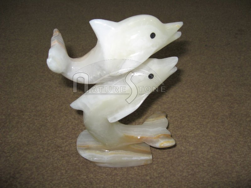 Marble and Onyx Animals Crafts Dolphins, Onyx Horses, Mouse, Rabbit, Frog, Turtle, Swan, Rhino, Fish, Dog, Cat, Camel, Parrots