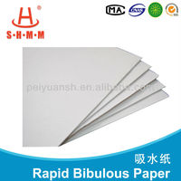 Medical soft absorbent water soluble paper