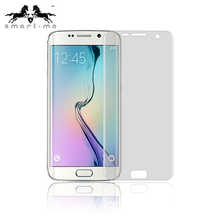 Heat Bent Soft Pet Full Coverage 3D Anti Explosion Tempered Glass Screen Protector For Samsung S6 edge