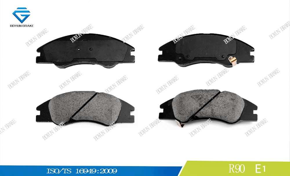 Korean car brake pad D1074 581012FA20 WVA24218