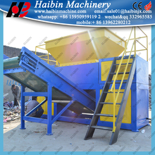 single/double shaft hdpe pipe shredders