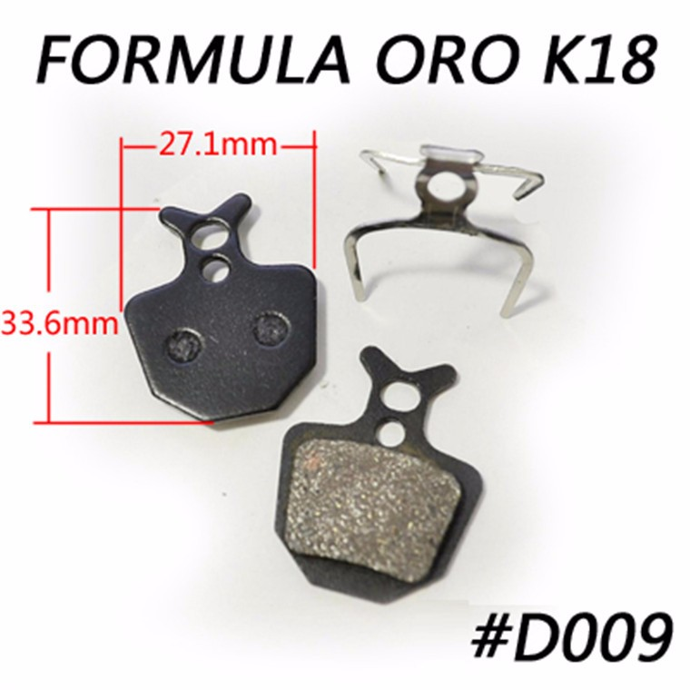MTB SEMI METALLIC MOUNTAIN BICYCLE DISC BRAKE PADS FOR FORMULA ORO <strong>K18</strong> ORO K24 ORO PURO.