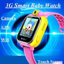 Smart Watch 3G Wifi Quad Core Android 5.1 Support SIM Smartwatch GPS Watch Children Kid Clock For IOS Android Smartphones